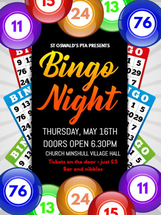 Bingo Night Flyer 2019