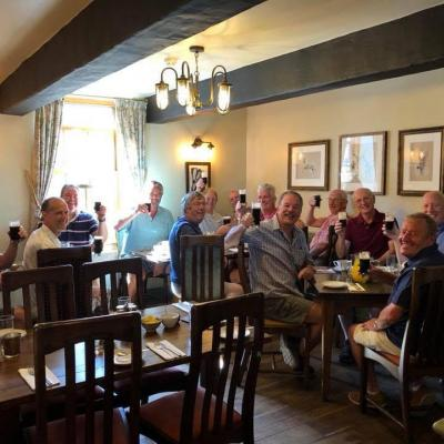 Gents breakfast June 2018