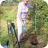 Margaret planting the first tree - Sept 2020
