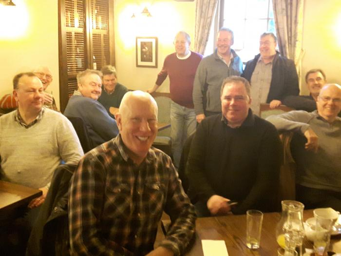 Mens Breakfast Jan 2018