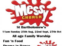 Messy Church Poster