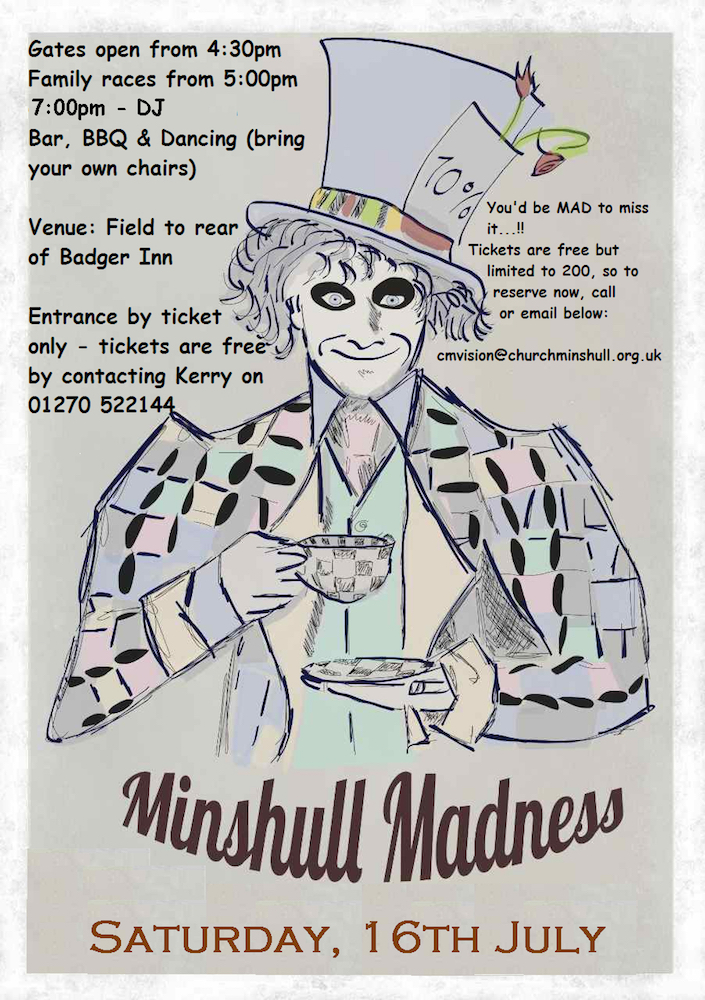 Minshull Madness 2016 Poster