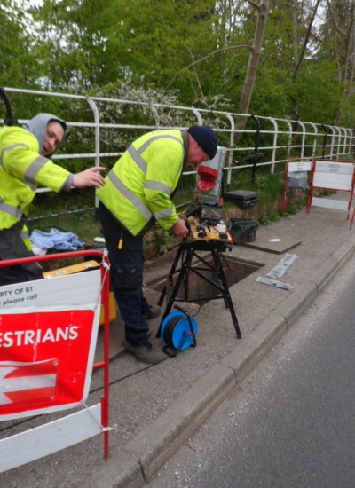 Superfast broadband installations