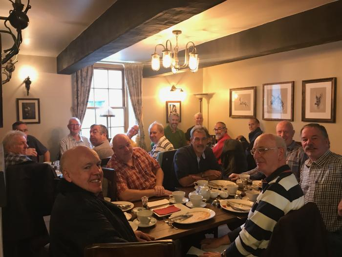 The 3rd Gents Breakfast 28-10-2017