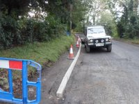 Traffic calming works