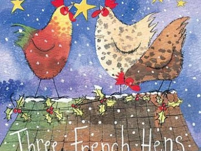 Two French hens