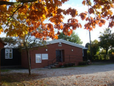 Village Hall in autumn 09