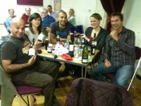 Village hall quiz winners